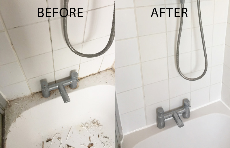 tile and grout sealant replacement
